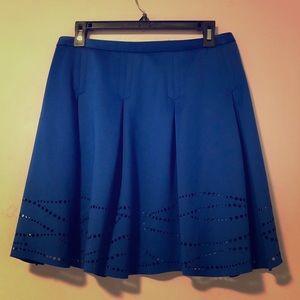 Catherine - Size 8 - Royal Blue Skater Skirt